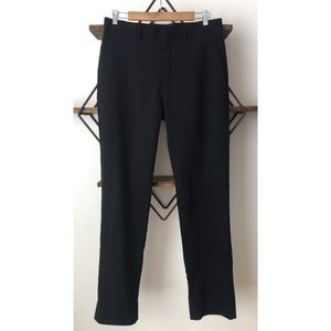Michael Kors Mens Wool Slim Straight Dress Pants